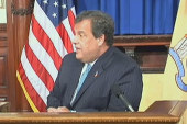 Chris Christie: 'He didn't seek support'
