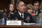 Tough questions for NSA director