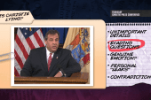 Is Chris Christie lying?