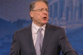 LaPierre attacks background checks at CPAC