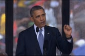 Highlights from Obama's tribute to Mandela