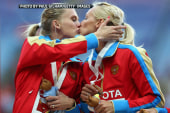 Innocent kiss or protest of Russia's anti...