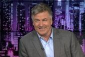 Staying up late with Alec Baldwin