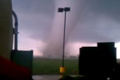 Up close video of Oklahoma tornado
