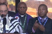 Fake interpreter at Mandela memorial