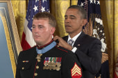 Medal of Honor recipient eyes...