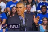 Obama dares Republicans to defund Obamacare