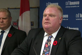 Mayor Rob Ford returns to work