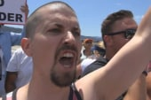 Lawrence goes to Murrieta protests