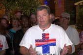 GOP mayor marches to D.C. in support of...