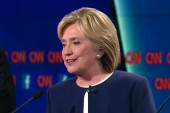 Clinton gets lucky in Vegas debate, and after