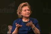 Hillary on 2016: 'I am thinking about it'