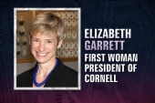 Cornell Univ. names its first female...