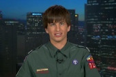 Boy Scout says he was outed and ousted