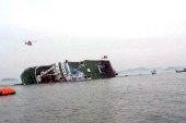 South Korea ferry carrying 450 sinks