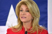 It's Wendy Davis versus Greg Abbot in TX