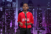10-yr-old does poetry slam on school closing