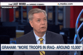 Sen. Graham's mission: 'More troops in Iraq'