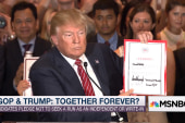 Trump signs GOP pledge, gets taunted by Jeb