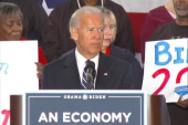 Biden delivers first campaign speech