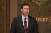 FBI director: 'It's hard to hate up close'