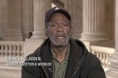 Homeless and working in the Senate