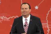 Sen. Mike Lee wants better GOP candidates
