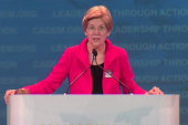 Elizabeth Warren: 'Are you ready to fight?'