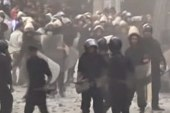 Violent protests break out in Cairo