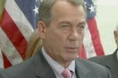 Large gavel no help as Boehner struggles...