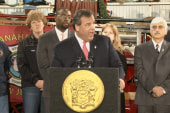 Christie speaks amid breaking bridge jam news