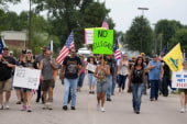 Human crisis overlooked by border protesters