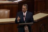 Few options as Boehner fails to stop shutdown