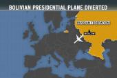 Bolivian president's flight blocked on...
