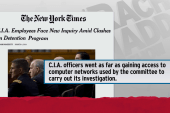 CIA being investigated for spying on Congress