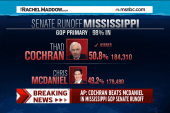 Voter turnout push key to Cochran victory