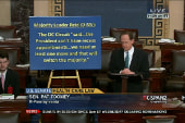 C-Span captures sputtering end of GOP stunt