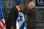 Israel honors Obama with highest award