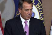 Boehner fails to unite GOP on Violence...