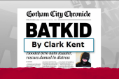 Clark Kent reports on BatKid heroics