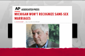US contradicts Michigan on same sex couples