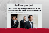 Cantor defeat ominous for establishment GOP