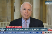 John McCain: 'Blah blah blah arm the rebels'