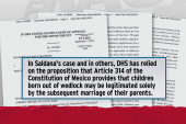 Bogus basis found in immigration rulings