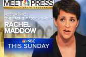 Maddow to guest on Meet the Press this Sunday