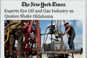Report finds airborne fracking well hazards
