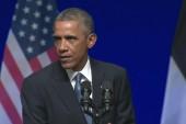 Obama talks tough, asserts NATO unity