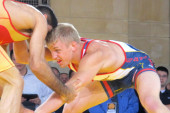 Wrestlers model diplomacy for Olympic appeal