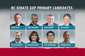 Tea party fails upset in NC race