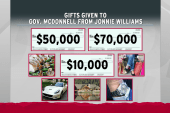 For McDonnell, harder to give back than to...